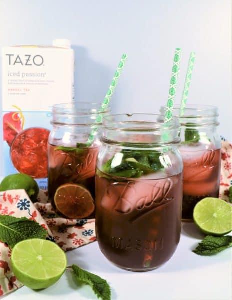 tea mint limemade recipe