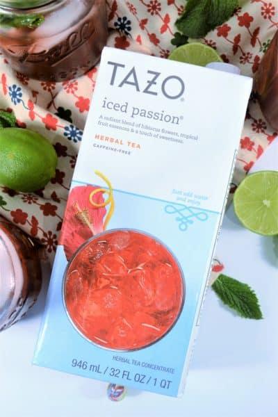 tazo passion tea limemade