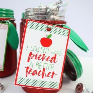 TEACHER GIFT IDEA + FREE PRINTABLE GIFT TAGS
