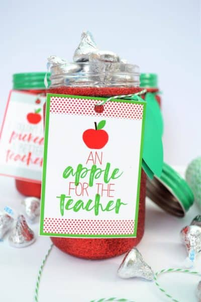 apple gift idea teachers